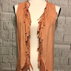 Maurice's Fringed Vest Top